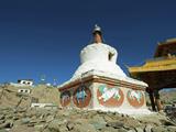 Stupa, Leh, Ladakh, India Photographic Print by Anthony Asael