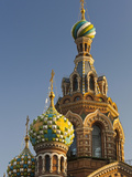Church of the Saviour of Spilled Blood, Saint Petersburg, Russia Fotodruck von Walter Bibikow