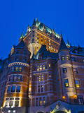 Fairmont Le Chateau Frontenac, Quebec City (UNESCO World Heritage Site), Canada Photographic Print by Keren Su