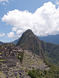 The Citadel with Huayna Picchu (The Young Peak) in the Background, Machu Picchu, Peru Photographic Print by Roberto Gerometta