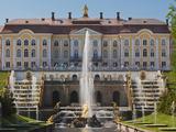 Grand Palace, Peterhof, Saint Petersburg, Russia Fotodruck von Walter Bibikow