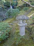 Garden Lantern, Shugakuin Imperial Villa, Kyoto, Japan Photographic Print by Rob Tilley