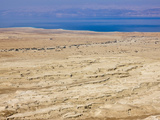 Judean Desert with Dead Sea, Southern District, Israel Photographic Print by Keren Su