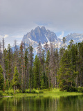 Little Redfish Lake, Sawtooth National Recreation Area, Idaho, USA Photographic Print by Jamie &amp; Judy Wild