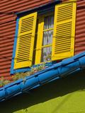 Window, Barrio La Boca, Buenos Aires, Argentina Photographic Print by Roberto Gerometta