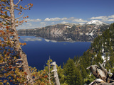 Crater Lake from the Rim, Crater Lake National Park, Oregon, USA Photographic Print by Michel Hersen