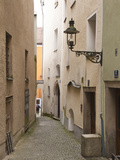 Narrow Street in Passau, Germany Photographic Print by Michael DeFreitas