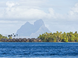 Bora Bora, Society Islands, French Polynesia Photographic Print by Roberto Gerometta