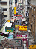 Typical Street, Hong Kong, China Photographic Print by Julie Eggers