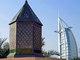 Burj Al Arab Hotel, Dubai, United Arab Emirates, Middle East Photographic Print by Nico Tondini