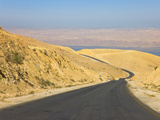 Road Leading to the Dead Sea, Jordan Photographic Print by Keren Su