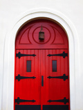 Church Door, Darien, Georgia, USA Photographic Print by Joanne Wells