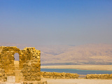 Masada Ruins, Dead Sea, Israel Photographic Print by Keren Su
