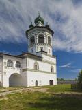 Nikola-Vyazhischi Convent, Novgorod Oblast, Veliky Novgorod, Russia Photographic Print by Walter Bibikow
