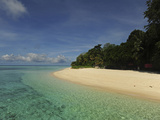 White Sand Beach, Semporna Archipelago, Sipadan, Malaysia Photographic Print by Anthony Asael