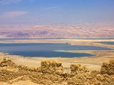 Masada Ruins, Dead Sea, Israel Reprodukcja zdjęcia autor Keren Su