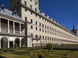 El Escorial Royal Monastery and Palace, San Lorenzo De El Escorial, Spain Photographic Print by Walter Bibikow