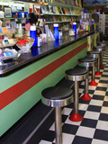 Ice Cream Soda Fountain, Apalachicola, Florida, USA Photographic Print by Joanne Wells