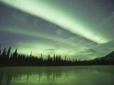 Aurora Borealis, Alaska, USA Photographic Print by Hugh Rose