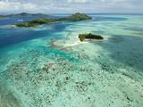 Bora Bora, Society Islands, French Polynesia Photographic Print by Roberto Gerometta