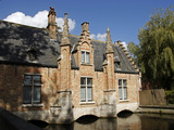 Canal Building, Bruges, Belgium Photographic Print by Kymri Wilt