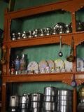 Kitchen Utilities, Markha Valley, Ladakh, India Photographic Print by Anthony Asael