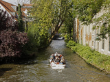 Canal Cruise, Bruges, Belgium Photographic Print by Kymri Wilt