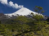 Villarrica Volcano, Villarrica National Park, Chile Photographic Print by Scott T. Smith