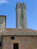 Towers of San Gimignano, UNESCO World Heritage Site, San Gimignano, Siena, Tuscany, Italy Photographic Print by Nico Tondini