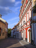 Pilias Street, Vilnius, Lithuania Photographic Print by Miva Stock