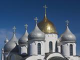 Saint Sofia Cathedral, Novgorod Oblast, Veliky Novgorod, Russia Photographic Print by Walter Bibikow