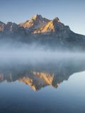 Stanley Lake and Mcgowan Peak, Sawtooth National Recreation Area, Idaho, USA Photographic Print by Jamie & Judy Wild