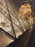 The Pyramide Du Louvre, Paris, France Photographic Print by William Sutton