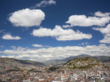 City View with El Panecillo, Quito, Ecuador Photographic Print by Brent Bergherm