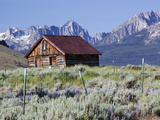 Old Barn, Sawtooth National Recreation Area, Idaho, USA Photographic Print by Jamie & Judy Wild