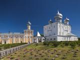 Saint Varlaam Convent, Novgorod Oblast, Veliky Novgorod, Russia Photographic Print by Walter Bibikow