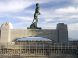 Terry Fox Monument, Thunder Bay, Ontario, Canada Photographic Print by David R. Frazier