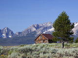 Old Barn, Sawtooth National Recreation Area, Idaho, USA Photographic Print by Jamie &amp; Judy Wild