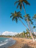 Anaeho'Omalu Beach, Kohala Coast, Hawaii, USA Photographic Print by Inger Hogstrom