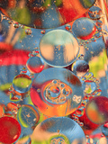 Abstract Bubbles and Colors, Savannah, Georgia, USA Photographic Print by Joanne Wells