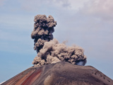 Anak Krakatau, Java, Sumatra, Indonesia Photographic Print by Alida Latham