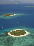 Beachcomber Island Resort and Treasure Island Resort, Mamanuca Islands, Fiji Photographic Print by David Wall