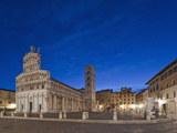 Piazza San Michele, Lucca, Italy Photographic Print by Rob Tilley
