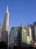 Transamerica Pyramid Skyscraper in San Francisco, California, USA Photographie par David R. Frazier