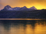 Redfish Lake, Sawtooth National Recreation Area, Idaho, USA Photographic Print by Jamie & Judy Wild