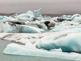 Iceberg Broken from Breidamerkurjokull Glacier, Vatnajokull Nat'l Park, Jokulsarlon, Iceland Photographic Print by Tom Norring