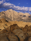 Snow-Covered Alabama Hills, California, USA Photographic Print by Dennis Flaherty