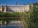 Alexander Palace, Pushkin-Tsarskoye Selo, Saint Petersburg, Russia Fotodruck von Walter Bibikow