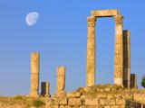 Hercules Temple, Jabal Al-Qal'A, Amman, Jordan Photographic Print by Keren Su