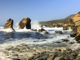 Breaking Waves, Garrapata State Park, California, USA Photographic Print by Tom Norring
